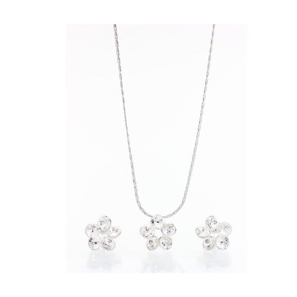Set náhrdelníka a náušníc s krištáľmi Swarovski Elements Laura Bruni Tokke