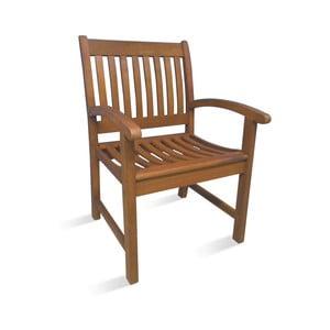 Jedálenská stolička z eukalyptového dreva Evergreen Houso Faux