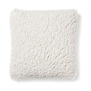 Biely vankúš La Forma Cora, 45×45cm