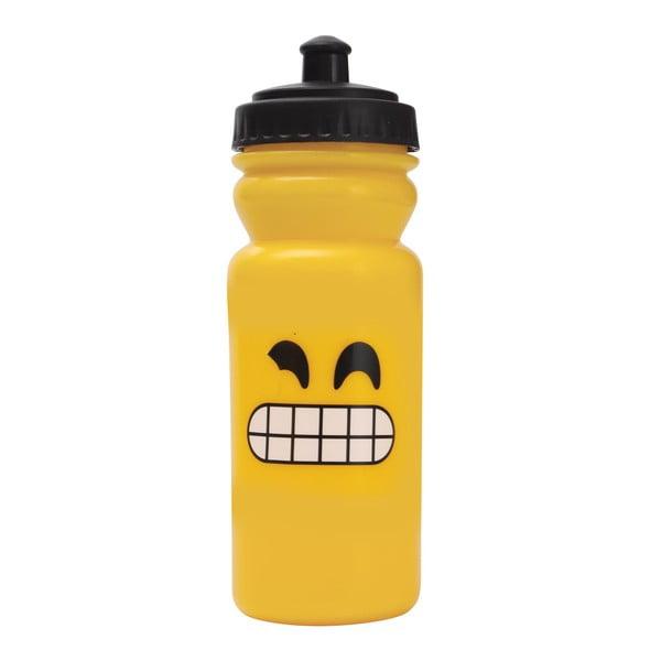 Športová fľaša na vodu Bergner Emoticon Teeth, 600ml