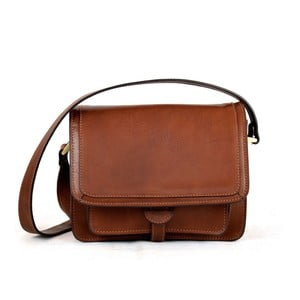 Kožená taška Santo Croce 132138 Brown