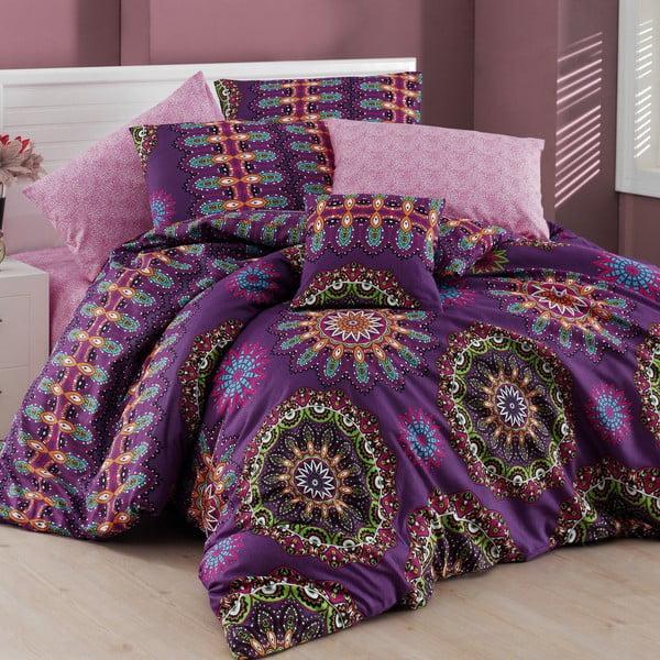 Obliečky s plachtou na dvojlôžko Hula, 200×220cm