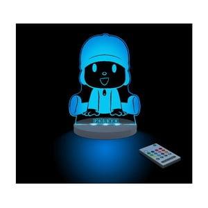 Detské LED nočné svetielko Pocoyo