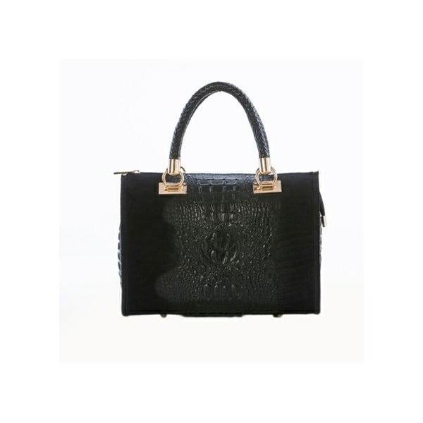 Kožená kabelka Italia 822 Black