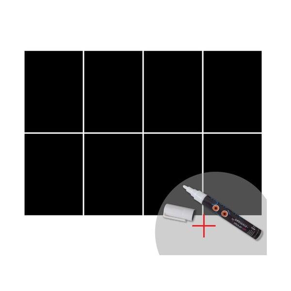Tabuľová samolepka s tekutou kriedou Ambiance Squares