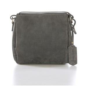 Sivá kožená kabelka Gianni Conti Isabela