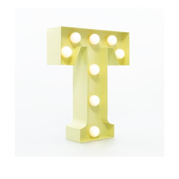 Dekoratívne svetlo Carnival T, vanilkové