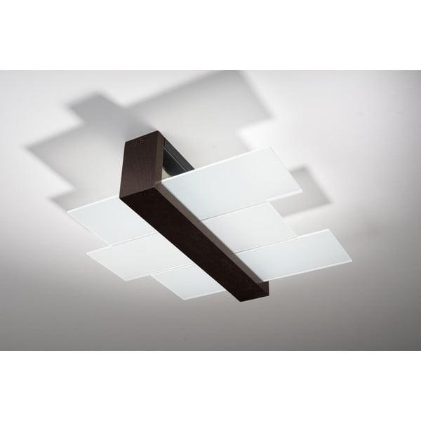 Hnedé stropné svetlo Nice Lamps Leda