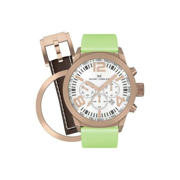 Dámske hodinky Marc Coblen s remienkom a krúžkom na ciferník naviac P27