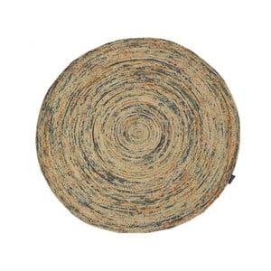 Ručne tkaný jutový koberec Bakero Roberta Ground, ø 120 cm