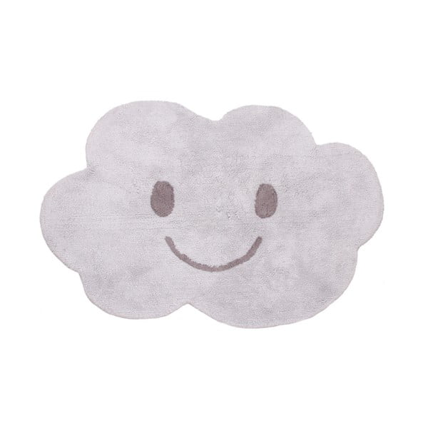 Detský sivý koberec Nattiot Nimbus, 75x115cm