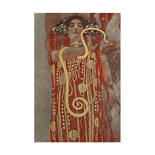 Reprodukcia obrazu Gustav Klimt - Hygieia, 70x45cm