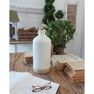 Váza White Ceramic Milano