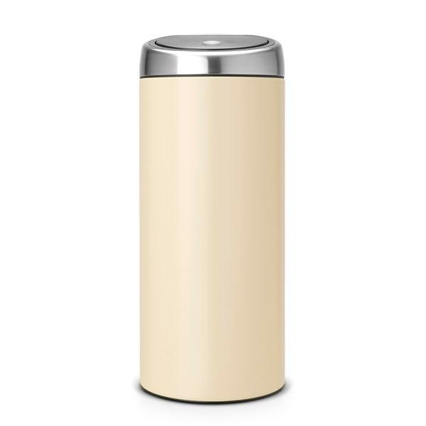 Dotykový odpadkový Kôš Touch Bin, 30 l, mandľový