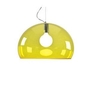Žlté stropné svietidlo Kartell Fly, ⌀52cm
