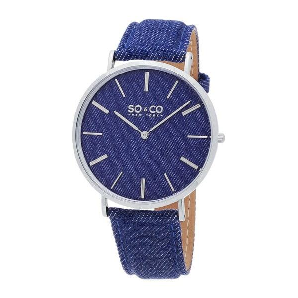 Pánske hodinky SoHo Club Silver/Blue