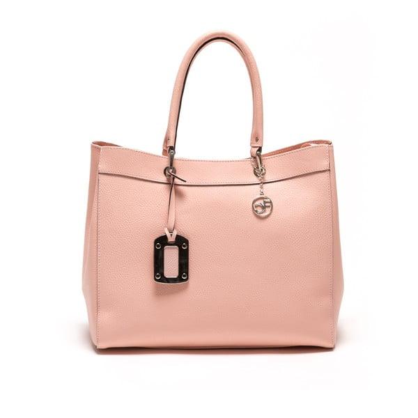 Kožená kabelka Freya, ružová