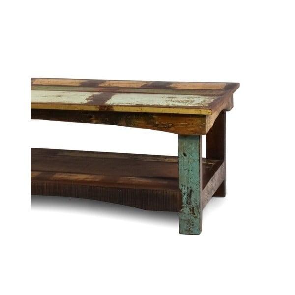 Stolík z teakového dreva Goa, 120x60 cm