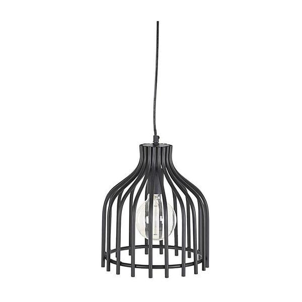 Kovové závesné svietidlo In Black, 24 cm