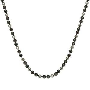 Perlový náhrdelník Muschel, zelenohnedé perly 8 mm, dĺžka 42 cm