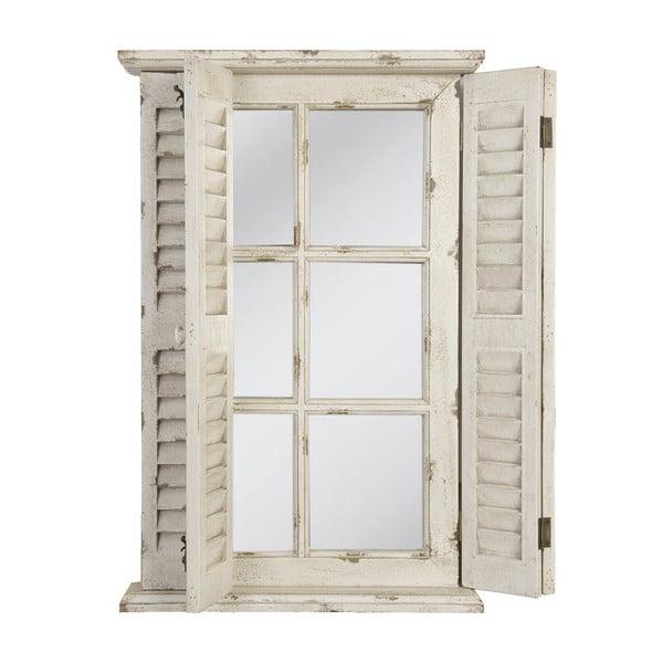 Zrkadlo v tvare okna White