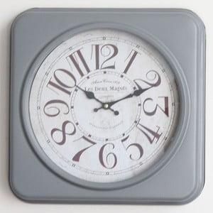 Kovové hodiny Moulin, 35 cm