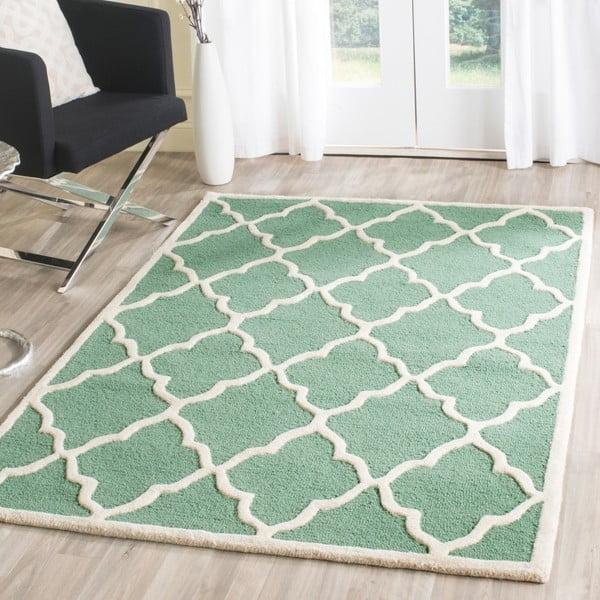 Vlnený koberec  Safavieh Noelle Forest, 91x152 cm