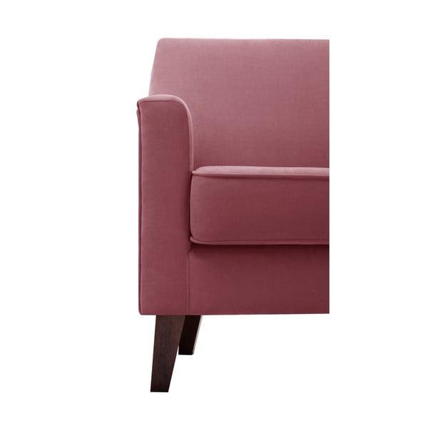 Ružovočervené kreslo Jalouse Maison Kylie