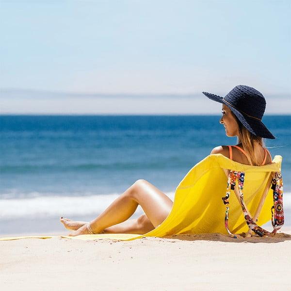 Skladacie plážové lehátko a osuška v jednom Sun Seat Jungle