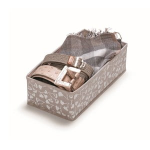 Hnedý úložný box Cosatto Bocquet, dĺžka 28 cm
