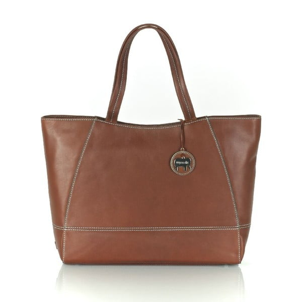 Kabelka Large Shopper Brown