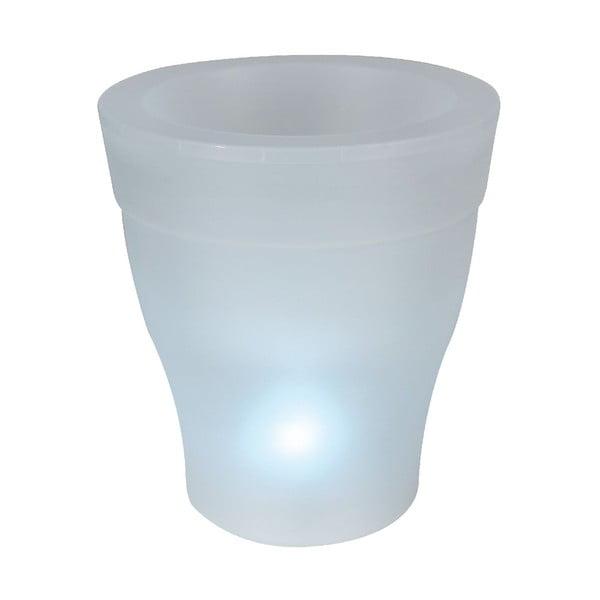 Záhradný kvetináč s LED svetlom Ilar
