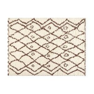 Vlnený koberec Linen Benedicto, 180×120 cm