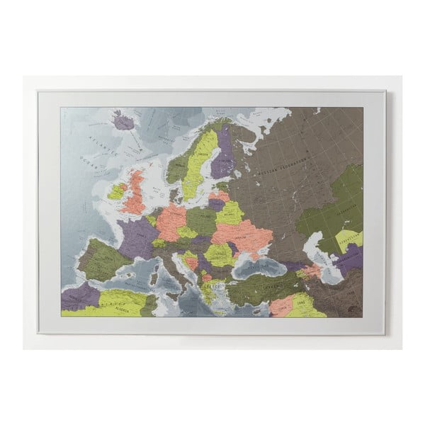 Mapa Evropy Future Map, 100x70 cm