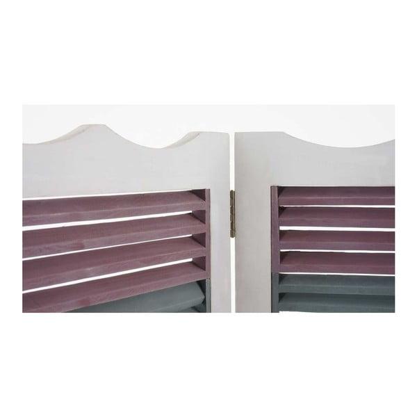Paraván Patchwork White, 161x170 cm