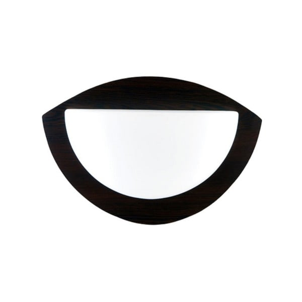 Nástenné svetlo Luksoe Wenge
