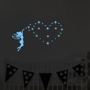 Svietiaca samolepka Ambiance Glittering Fairy