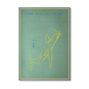 Plagát Airplane II, 30x42 cm