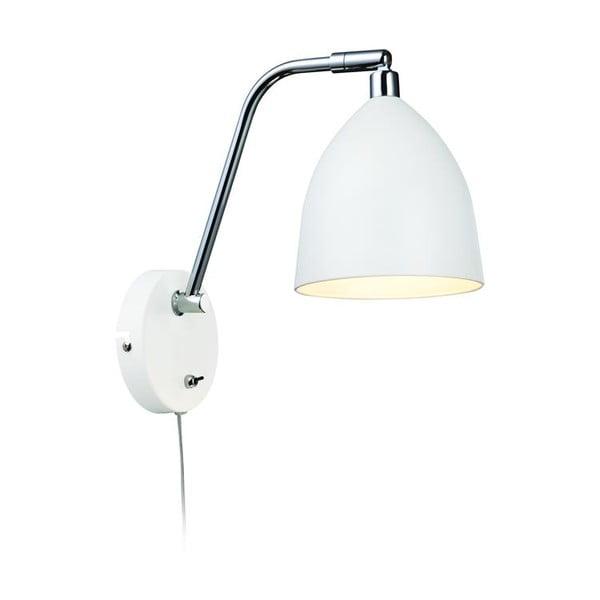 Biele nástenné svetlo Markslöjd Fredrikshamn