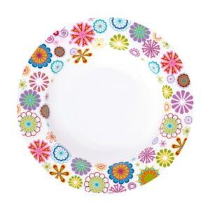 Polievkový tanier Krauff Blumen, 21.5 cm