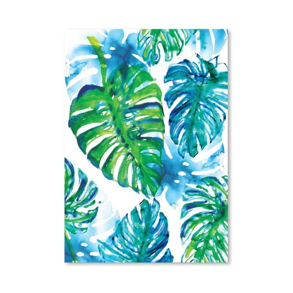 Plagát Jungle Print, 30x42 cm