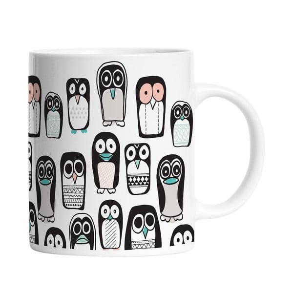 Keramický hrnček Penguin Group, 330 ml