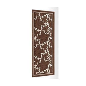 Hnedý vysokoodolný kuchynský koberec Webtappeti Maple Marrone, 55 x 115 cm