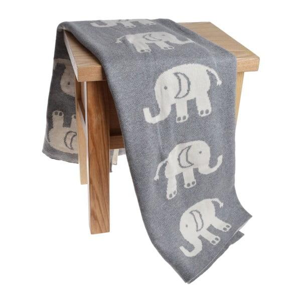 Detská deka Elephant, 80x100 cm