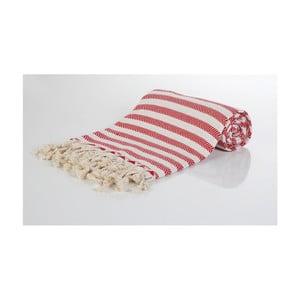 Hammam osuška z ručne tkanej bavlny ZFK Glenn, 180 x 100 cm