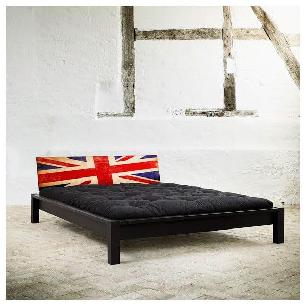 Posteľ Karup Tami UK Black / Union Jack