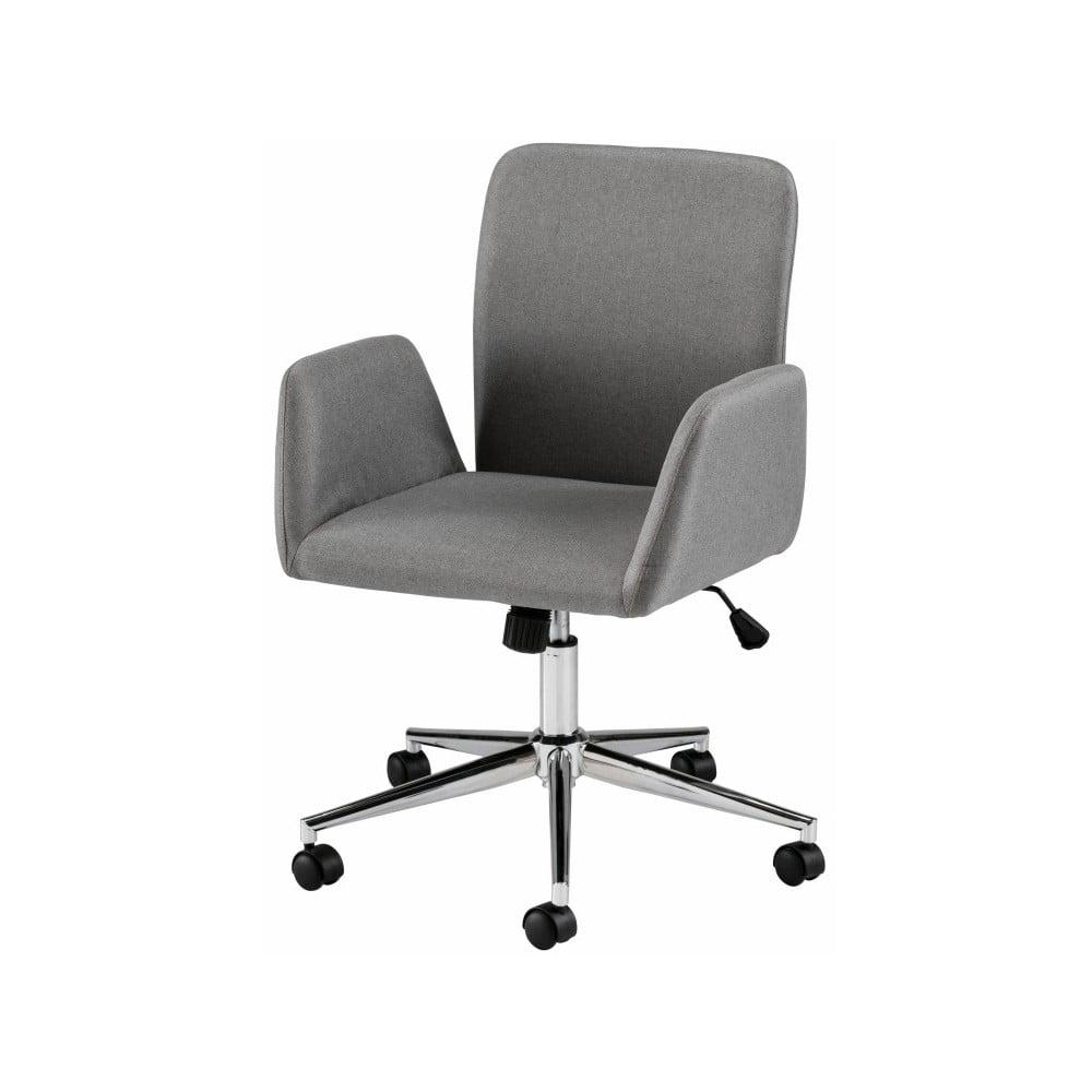 Sivá kancelárska stolička na kolieskach s opierkami Støraa Bendy