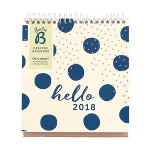 Stolový kalendár Busy B Fashion 2018