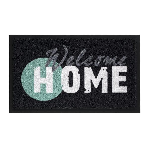 Rohožka Hamat Welcome Home Black, 45x75cm