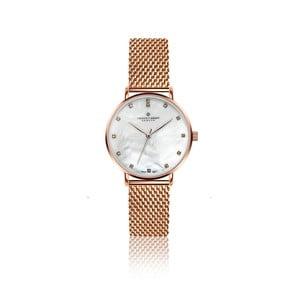 Dámske hodinky s remienkom z antikoro ocele v ružovozlatej farbe Frederic Graff Dolent
